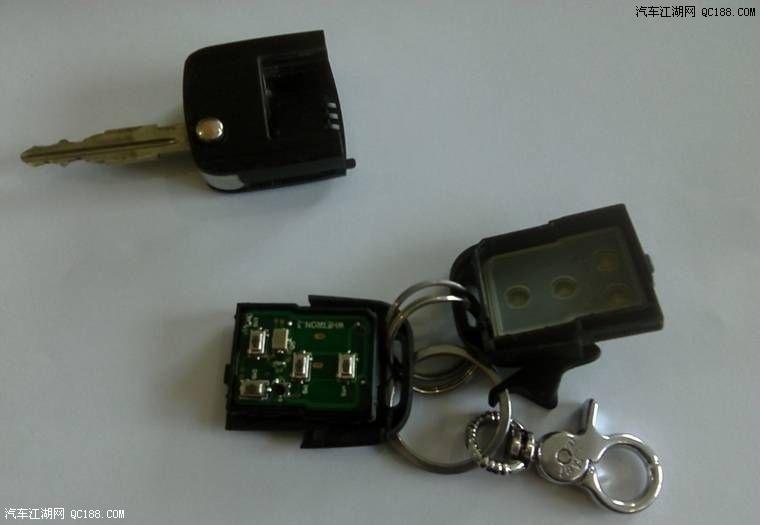 别克凯越遥控钥匙换电池
